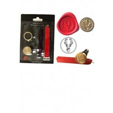 WAX SEALING KIT Scottish STAG Letter Invitation Envelope Seal Stamp Gift Present