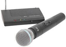 RADIO MICROFONO COMPATTO SISTEMA WIRELESS PALMARE MIC VHF 171.801