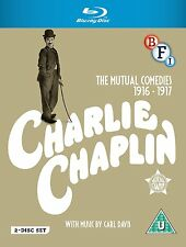 Charlie Chaplin: The Mutual Films Collection - Blu ray NEW & SEALED (2 Discs)