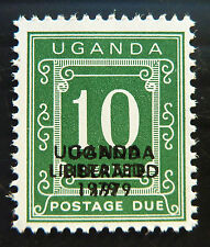 UGANDA 1979 10c Postage Due Liberation with Double OPT U/M D2 SALE PRICE BN 993