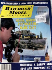 Railroad Model Crasftman February 1993 - Modeling A D&RGW SD 45 - Tr.21