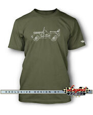 Jeep Willys 1944 - 1945 WWII Men T-Shirt - Multiple Colors and Sizes