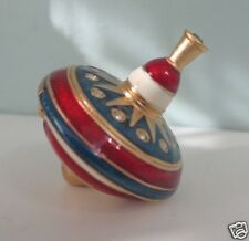 ESTEE LAUDER * 2006  Spinning Top Solid Perfume Compact  - empty
