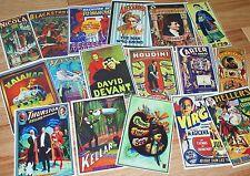 Classic Magic Mini Posters Set #1 --(17 different) adhesive back stickers   TMGS