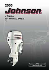 Johnson Outboard Owners Manual 2005 4 Stroke, 60 & 70 HP / Models PL4