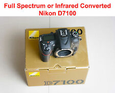Nikon D D7100 24 MP Camera converted to Full Spectrum on Infrared of your choice