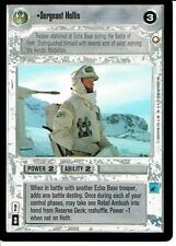STAR WARS CCG SPECIAL EDITION LIGHT SIDE RARE SERGEANT HOLLIS