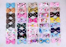 """Wholesale 40 girl baby toddler 2.5"""" boutique toy Hair Bow clips Disney ribbon C2"""