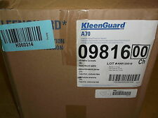 NEW Kleenguard A70 Cheminal Protection Spray Suit, 3XL Yellow 3PKK1, Case of 9