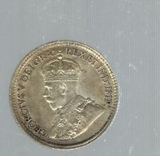 1920 Canada 5 Cents Y 22a Silver Coin