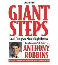 New,GIANT STEPS CD's Anthony Tony Robbins,nlp