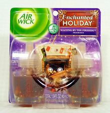2 Refills Air Wick WAITING BY THE FIRESIDE Scented Oil Refills WINTER CHRISTMAS