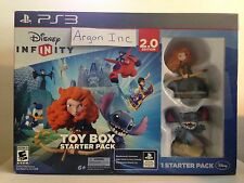 NEW Disney Infinity 2.0 Toy Box Starter Pack PS3 Kids Game Bundle *SEALED*