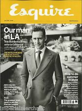 Esquire magazine Tom Hiddleston Will Self James Bond Newcastle Cillian Murphy