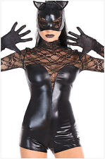 Deluxe Ladies Catwoman Batman Dark Knight Rises Halloween Fancy Dress Costume