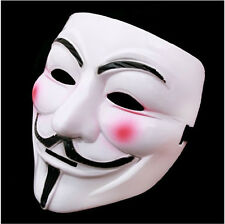 Hot COSPLAY V FOR VENDETTA MOVIE COSTUME MASK Guy Fawkes ANONYMOUS PARTY cm
