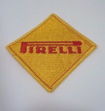 PIRELLI Embroidered Iron On Uniform-Jacket Patch 2.25""
