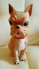Vintage French Bulldog Squeaky Toy Children's Kids Collectible
