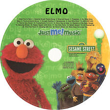 ELMO PERSONALIZED KIDS SING-A-LONG MUSIC CD