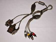 Universal AV Cable S-Video Unit for Nintendo GameCube PS2 X-Box SNES N64 PS1