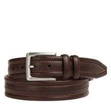 Johnston & Murphy Men's Center Scored Belt 75-6718 Size 42