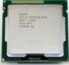 Intel Pentium G870 (SR057), Dual-Core 3.1GHz, Socket LGA1155 CPU