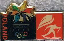 1998 Nagano Poland Olympic Nordic Combined Team NOC Pin
