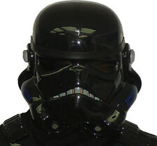 Black Replica Stormtrooper Helmet - compatible with Shadowtrooper Costume Armour