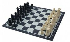 Giant Plastic Chess Set and Mat 20cm (8 Inch)