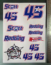 Scott Redding pegatinas-Grandes Decal Sticker Kit