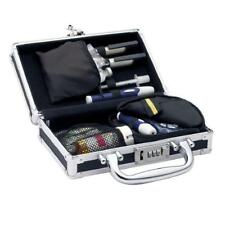 Medicine Briefcase Dual Lock Organize Carry Store Medical Supply Syringe Band