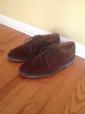 Tommy Hilfiger Brown Suede Oxford Shoes 10 M
