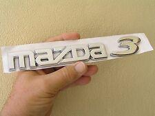 ~ MAZDA 3 Script Badge Rear Emblem