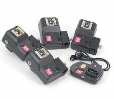 PT-16 NE 16 Channels Wireless/Radio Flash Trigger Umbrella Holder w/ 4 Receivers