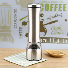 Stainless Steel Manual Salt and Pepper Mill Grinder for Cooking Kitchen Food