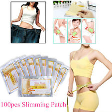 100Pc Slim Patch Diet Slimming Fast Weight Loss Effective Burn Fat Adhesive Pads