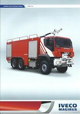 Fire Equipment Brochure - Iveco Magirus - Impact x6 - Airport Use  (DB236)
