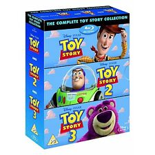 TOY STORY 1-3 - COLLECTION (NEW BLU-RAY) - REGION FREE - (ABC) - BRAND NEW !