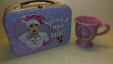 """I Love Lucy"" Metal Lunchbox Trademarks of CBS Broadcasting Inc. and Mug"