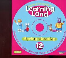 Learning Land PC CD Rom / No.12 - Spring Cleaning