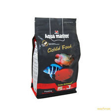 2.2 lbs Aqua Master Color Luster Enhancer Food 4 Flowerhorn Cichlid MEDIUM