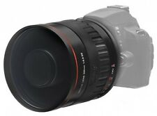 Vivitar 500mm f/6.3 Telephoto Tele Mirror Manual Lens with T T2 Camera Mount NEW