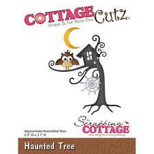 Halloween Haunted Trees, Steel Craft Cutting Die COTTAGE CUTZ New, CC-209