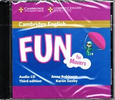 Cambridge English FUN FOR MOVERS Audio CD Third Edition 2015 @NEW & SEALED@