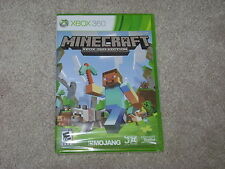 MINECRAFT XBOX 360 EDITION...XBOX 360...***SEALED***BRAND NEW***!!!!!