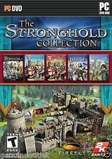 The Stronghold Collection 1 2 Crusader Legends PC 5 Games USA Version Sealed