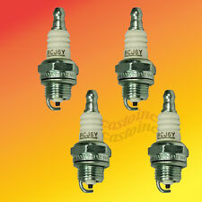 4 Champion 2 & 4 Cycle Engine Small Spark Plugs RCJ6Y  Trimmer & Chainsaws