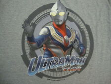 Vintage bandai  Ultraman Tiga Sky Type Action Figure Japan RARE 90's T SHIRT L
