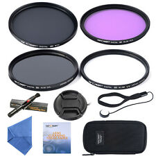 77mm Lens Filter Kit UV CPL FLD ND4 For Sigma 17-50mm 10-20mm 70-200mm 80-400mm