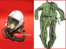 NEW Flight Helmet High Altitude Astronaut Space Pilots Pressured 1A+FLIGHT SUIT